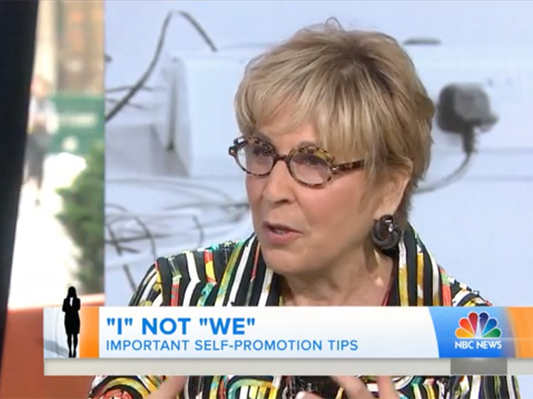 Peggy Klaus interviewed on the Today Show
