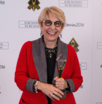 Stevie Award winner Peggy Klaus